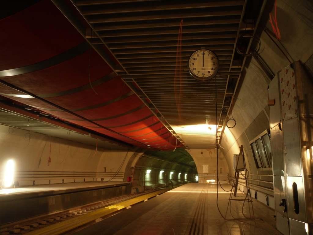 Πρόοδος επέκτασης του Μετρό προς Ανθούπολη, Οκτώβριος 2011. Πηγή: Αττικό Μετρό