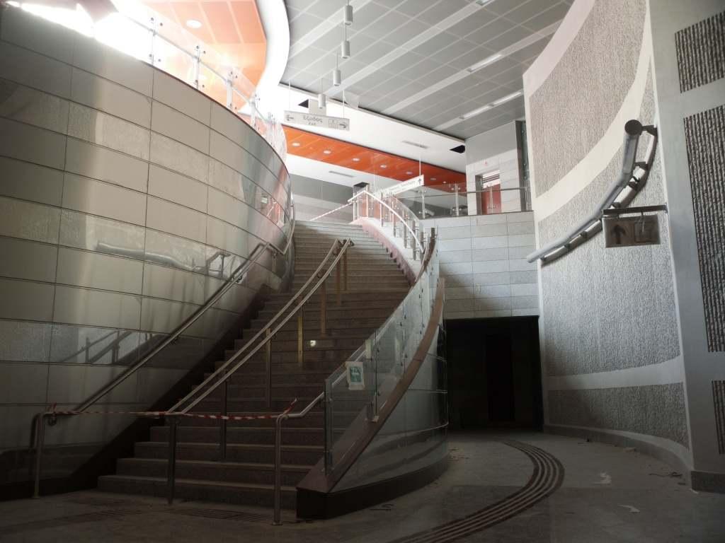 Πρόοδος επέκτασης του Μετρό προς Ανθούπολη, Δεκέμβριος 2011. Πηγή: Αττικό Μετρό