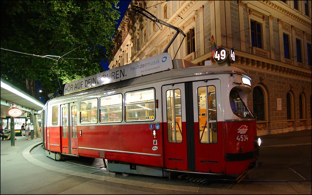 2€ κοστίζει το εισιτήριο για το Τραμ της Βιέννης, 2,20€ αν το αγοράσετε από τον οδηγό