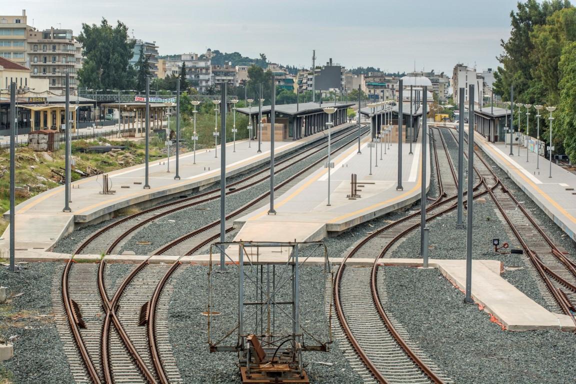 Αποτέλεσμα εικόνας για νεος σιδηροδρομικός σταθμος αθηνας