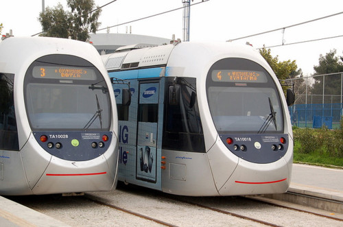 Athens Tram vehicles
