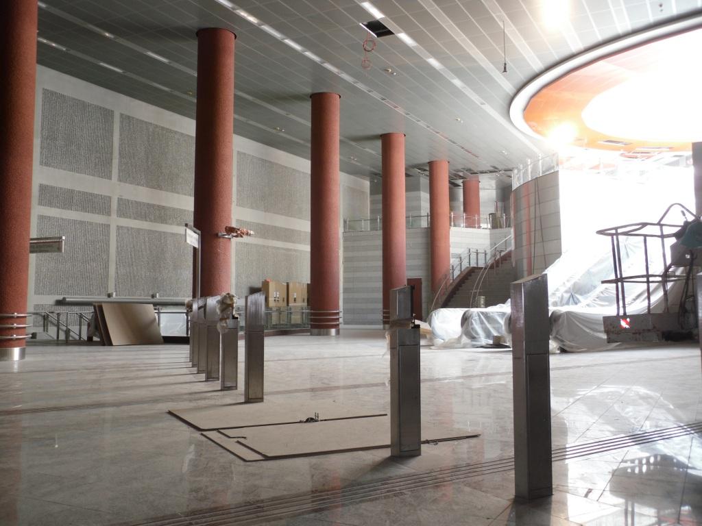 Πρόοδος επέκτασης προς Ανθούπολη, Ιούλιος 2011. Πηγή: Αττικό Μετρό
