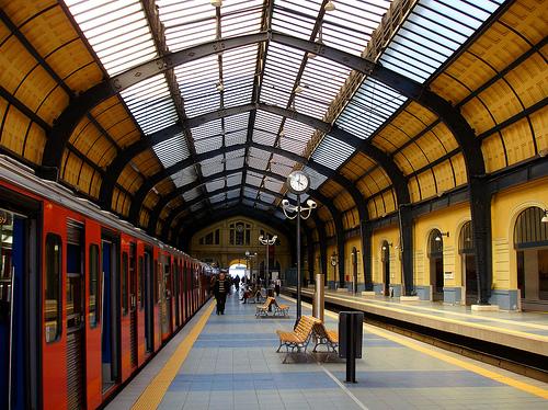 Ο σταθμός του Μετρό στον Πειραιά
