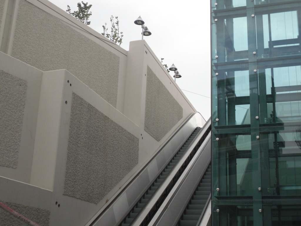 Πρόοδος επέκτασης προς Ανθούπολη, Σεπτέμβριος 2011. Πηγή: Αττικό Μετρό