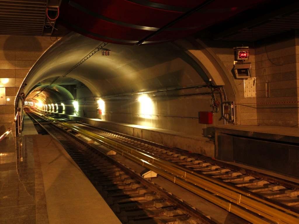 Πρόοδος επέκτασης του Μετρό προς Ανθούπολη, Νοέμβριος 2011. Πηγή: Αττικό Μετρό