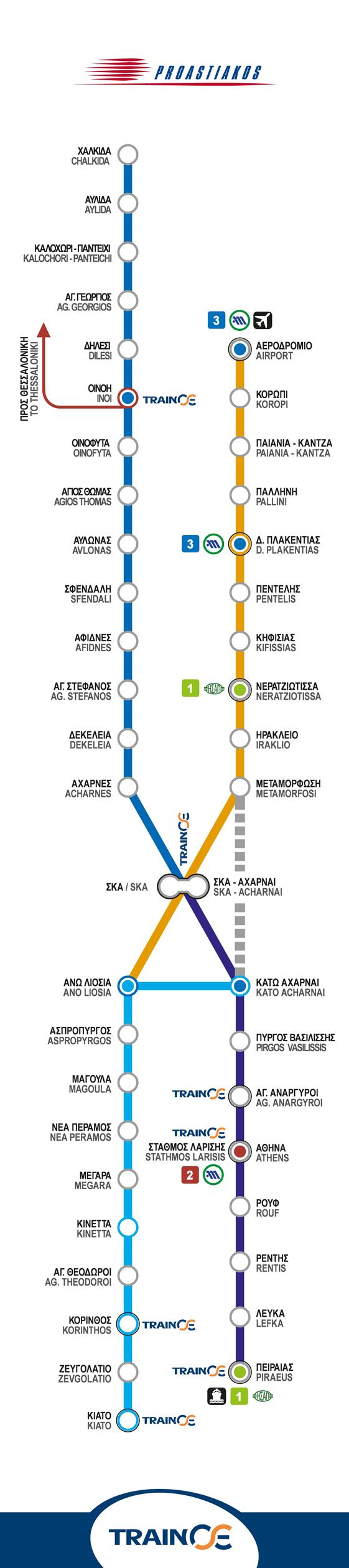 Χάρτης Προαστιακού Αθήνας (κλικ για μεγέθυνση)