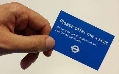 Κάρτα Please Offer Me a Seat