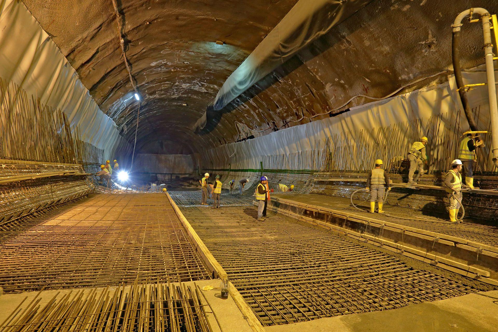 Πρόοδος επέκτασης Μετρό Πειραιάς