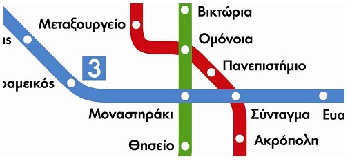 Πλητοφορίες για τα Μέσα Μαζικής Μεταφοράς της Αθήνας