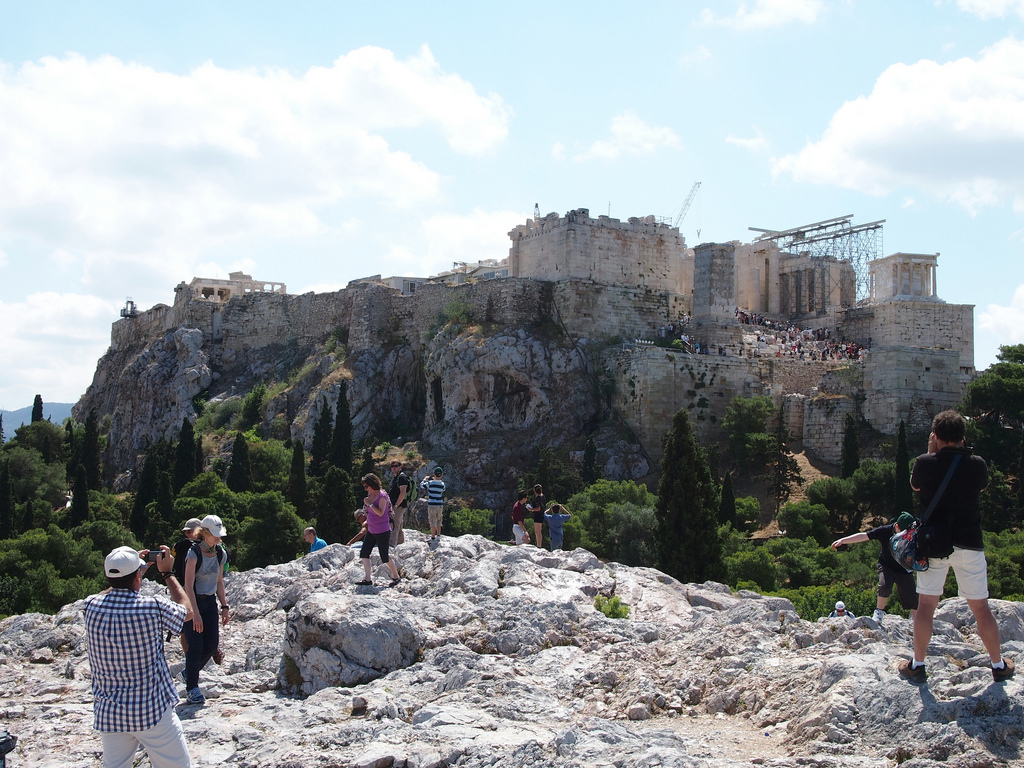 Areopagus Hill Athens