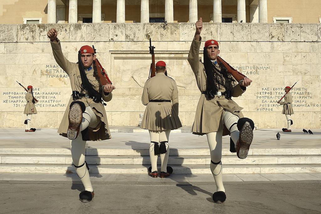 Evzones Athens