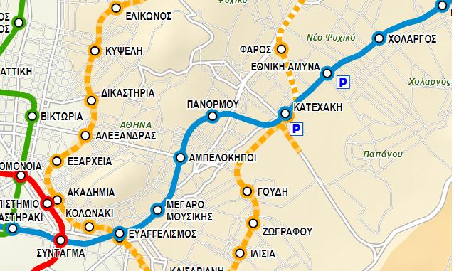 Ξεκινούν τα έργα για τη γραμμή 4 του Μετρό