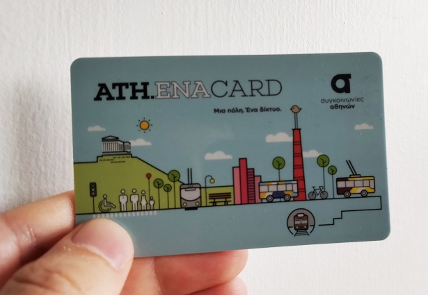 Athena Card κάρτα