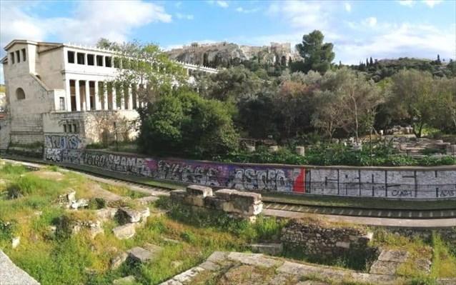 Γκράφιτι ΗΣΑΠ θησείο 2