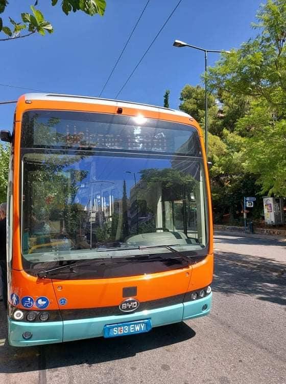 Ηλεκτρικό λεωφορείο BYD 5