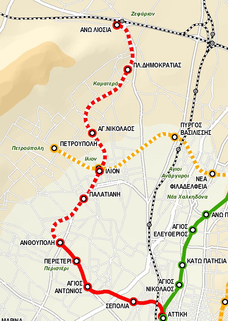 Επέκταση Μετρό Ανθούπολη – Ίλιον – Λιόσια