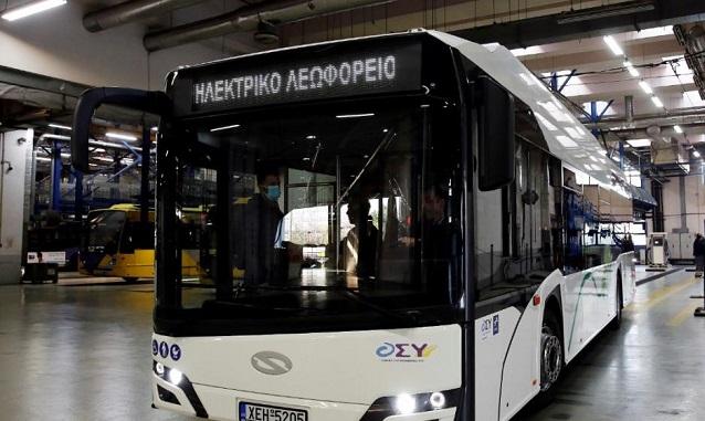 Η Ελλάδα ουραγός στην ταξινόμηση λεωφορείων μηδενικών εκπομπών