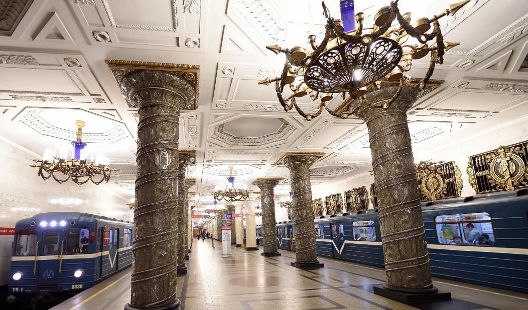 Αγία Πετρούπολη Μετρό