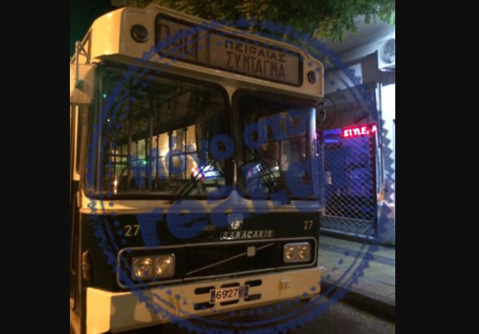 πράσινο λεωφορείο 5